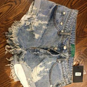 Pants - NWT Jean shorts